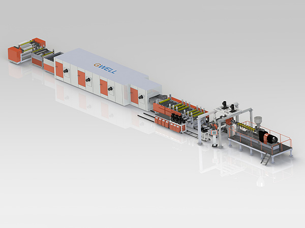 Lithium battery separator production line